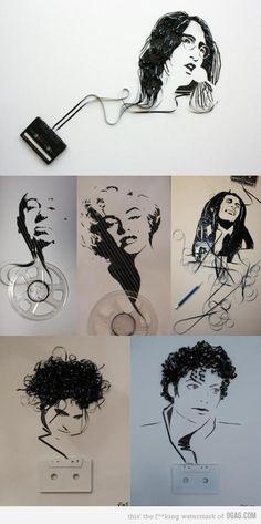tape art for musicians....