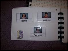 ABC of Kids Pictures and Names  --  Need to make one or more for next year!!!   (Photo Albums)  CUTE!