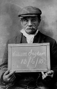 Meet William Ingham, one of Victorian Manchester's most persistent, if not successful, serial offenders. Operating under a range of aliases including, Johnson, Evans, Aspinall Higgins and Jackson, he became very well acquainted with Manchester City Police. He spent a total of nearly 29 years in prison over a 45 year period. From the collection of the Greater Manchester Police Museum and Archives. To find out more please visit www.gmpmuseum.com