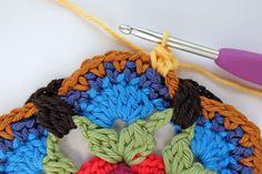 knit & crochet design: Frida's Flowers Block Three & Four