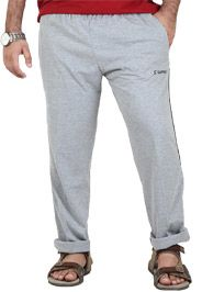 http://tinyurl.com/hahhc7l Buy Online Comfortable SAPPER Light Gray Cotton and Hosiery Lowers only on GetAbhi.com