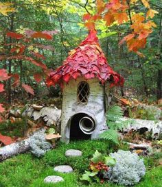 A perfect little fairy home