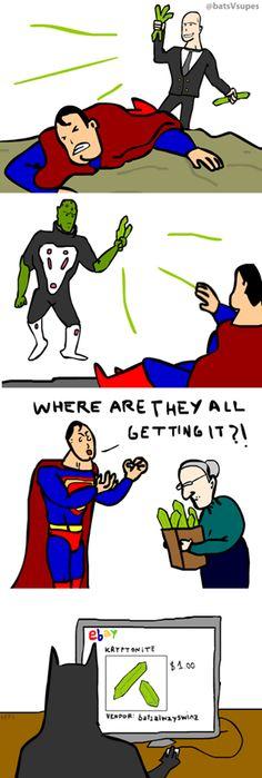 Superman trolled