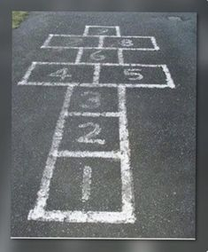 Good old hopscotch! My Childhood Memories, Childhood Toys, Sweet Memories, School Memories, Cherished Memories, School Times, Childhood Images, Nostalgia, Ol Days
