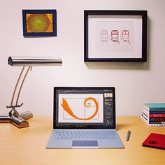 Celebrate #Fibonacci Day! Its easy as 1 1 2 3. #SurfaceBook by microsoftstore