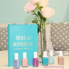 Fresh, fun and floral. Find your inspiration in the essie spring 2015 collection.