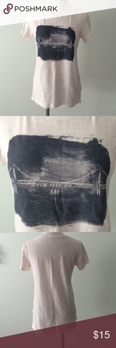 "GAP ▪️ New York City USA Tee Shirt Worn a few times. Length 23.5"". Soft cotton t-shirt. GAP Tops Tees - Short Sleeve"