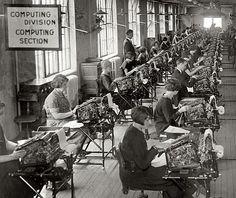 Bonus Bureau, Computing Division. Washington DC Nov. 24, 1924