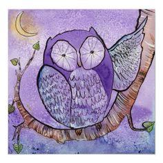 The Purple Owl