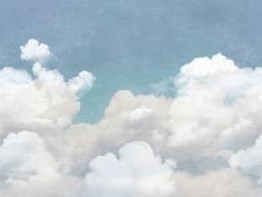 Wall Mural R14011 Cuddle Clouds image 1 by Rebel Walls