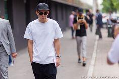 Eugene Tong - Milan Men's Fashion Week Spring-Summer 2014 Street Style
