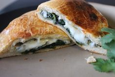 Simple Spinach Calzones Recipe