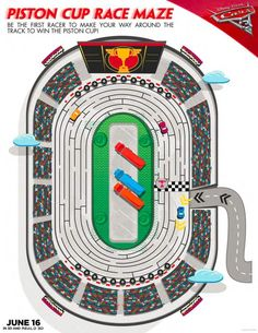 FREE Cars 3 Kids Printables - 37 pages of free kids activities including recipes, mazes, & more! Perfect for a Disney Cars party or play date Disney Cars Party, Disney Cars Birthday, Cars Birthday Parties, Disney Pixar Cars, Birthday Games, Third Birthday, Disney Movies, Printable Mazes, Free Printables