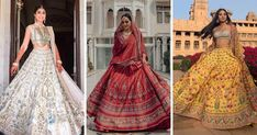 Check out these top trending Anita Dongre lehengas which are a big hit among brides-to-be. Anita Dongre bridal lehenga ideas at ShaadiWish.
