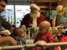 Santa visits Vito