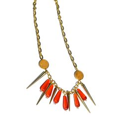 Fab.com | Cayenne Necklace Gold-Toned by Brittney Miranda