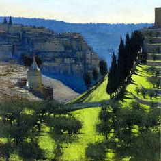 Andrew Gifford - Kidron Valley, late afternoon
