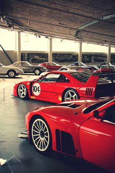 550 LM, F40 LM