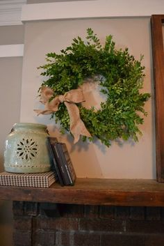 Good Photos Boxwood Wreath diy Strategies My favorite area of DIY will be acquiring brand new, low-cost techniques to produce residence décor Boxwood Wreath Diy, Diy Wreath, Indoor Wreath, Tulle Wreath, Burlap Wreaths, Wreath Ideas, Christmas Wreaths, Christmas Crafts, Christmas Decorations