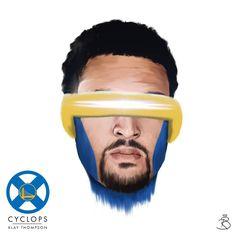 X-Men x Golden State Warriors Illustrated Series