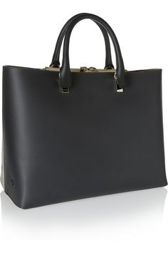 Chloé Baylee large two-tone leather tote NET-A-PORTER.COM