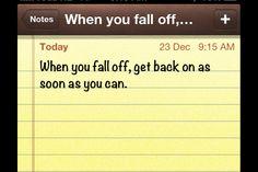 Fallen off?