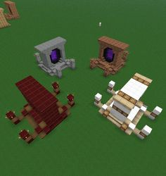 BUILD:  Nether Portal designs