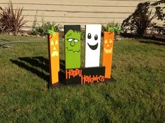 DIY Halloween Sign - Outdoor Halloween Decorations