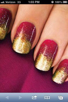 Glitter for anytime #nailart