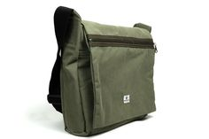 Cool and practical recycled bag perfect for work or school.