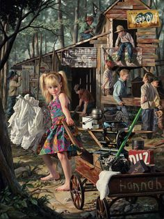 Runaway 1958 by Norman Rockwell