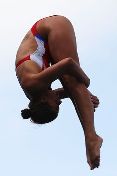 Maren Taylor of the USA competes in the Women's 3m Springboard Diving Semifinal round on day eight of the 15th FINA World Championships at Piscina Municipal de Montjuic on July 27, 2013 in Barcelona, Spain.