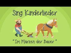 Im Märzen der Bauer - Kinderlieder zum Mitsingen | Sing Kinderlieder - YouTube