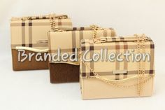 Burberry long chain cross body bags!