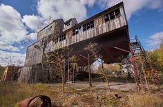 Disused Farm and Equipment, Красне Village (Chernobyl Exclusion Zone), Ukraine - Oct