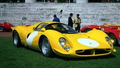 1967 Ferrari 412P, this one chassis was converted to a ROAD Car for use by Dino Martin (Dean Martin's son)