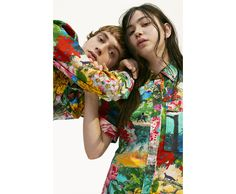 To celebrate the release of a new version of The Jungle Boo', Kenzo has revisited its wild world in an exclusive capsule collection. The bright pieces for both men and women will be available to shop from April 7.