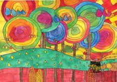 -Landscapes-Hundertwasser-- adorable!