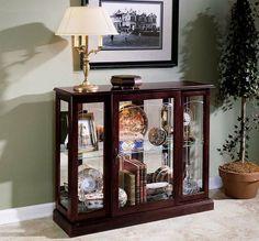 Beautiful Living Room Curio Cabinets