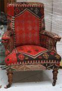 kilim reupholstery work