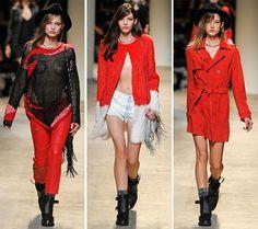Zadig & Voltaire Spring/Summer 2014 RTW - Paris Fashion Week  #PFW #fashionweek #ParisFashionWeek