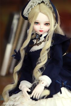 Night Novel, Bjd Dolls, Beautiful Dolls, Fashion Dolls, Barbie, Kawaii, Costumes, Fictional Characters, Cute Dolls