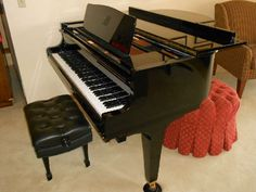 Found on EstateSales.NET:  K. Kawai GE-1 baby grand piano that will be available at our Woodbury Estate Sale the 18th & 19th of May!