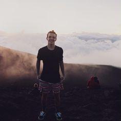Aaron Carpenter in Hawaii