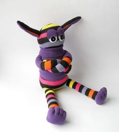 sock monster with attitude | Flickr - Photo Sharing!
