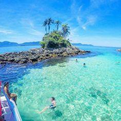 Ilhas Botinas em Angra dos Reis/RJ.