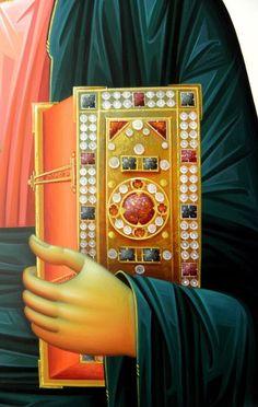 Byzantine Icons, Byzantine Art, Icon Clothing, Gold Leaf Art, Medieval Books, Religious Paintings, Orthodox Christianity, Art Icon, Orthodox Icons