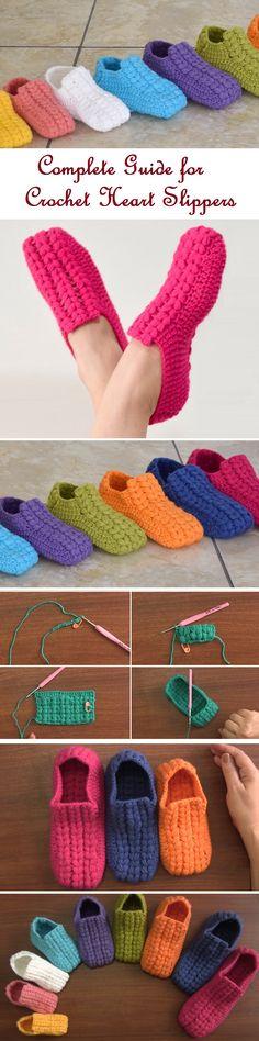 4 Slipper Tutorial to Try Your Yarn On – Design Peak