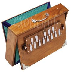 "SHRUTI BOX~TEAK WOOD~BIG SIZE (15"" X 10"" X 3"")~440Hz~YOGA~MANTRA~BHAJAN~CHANT~DJ #KaaynaMusicals"