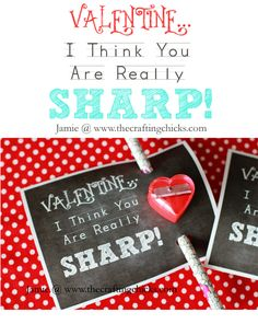 """{Valentine """"You Are Really SHARP!"""""""